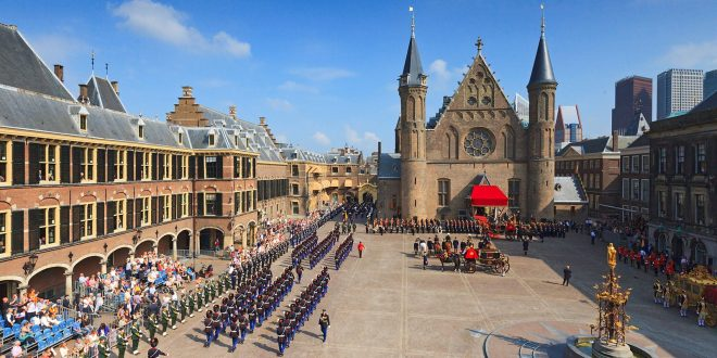 Binnenhof, political heart of The Netherlands (The Hague)