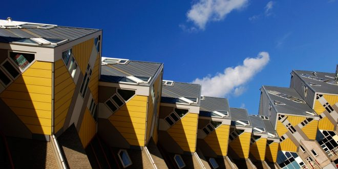 Don't miss this in Rotterdam : The Cube Houses