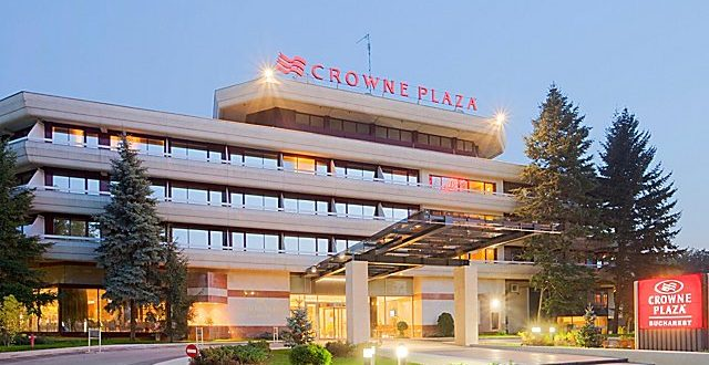 Crowne Plaza hotel in Bucharest (Romania)