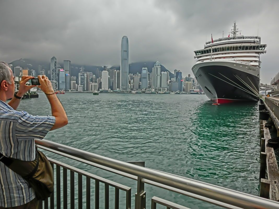 "Photo of Hong Kong's Newest Tourist Attraction — ""Ocean Terminal Deck"" is Open to the Public"