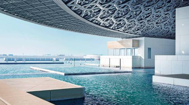 Photo of Opening celebrations continue as jazz and world musician Ibrahim Maalouf performs on Louvre Abu Dhabi's third day