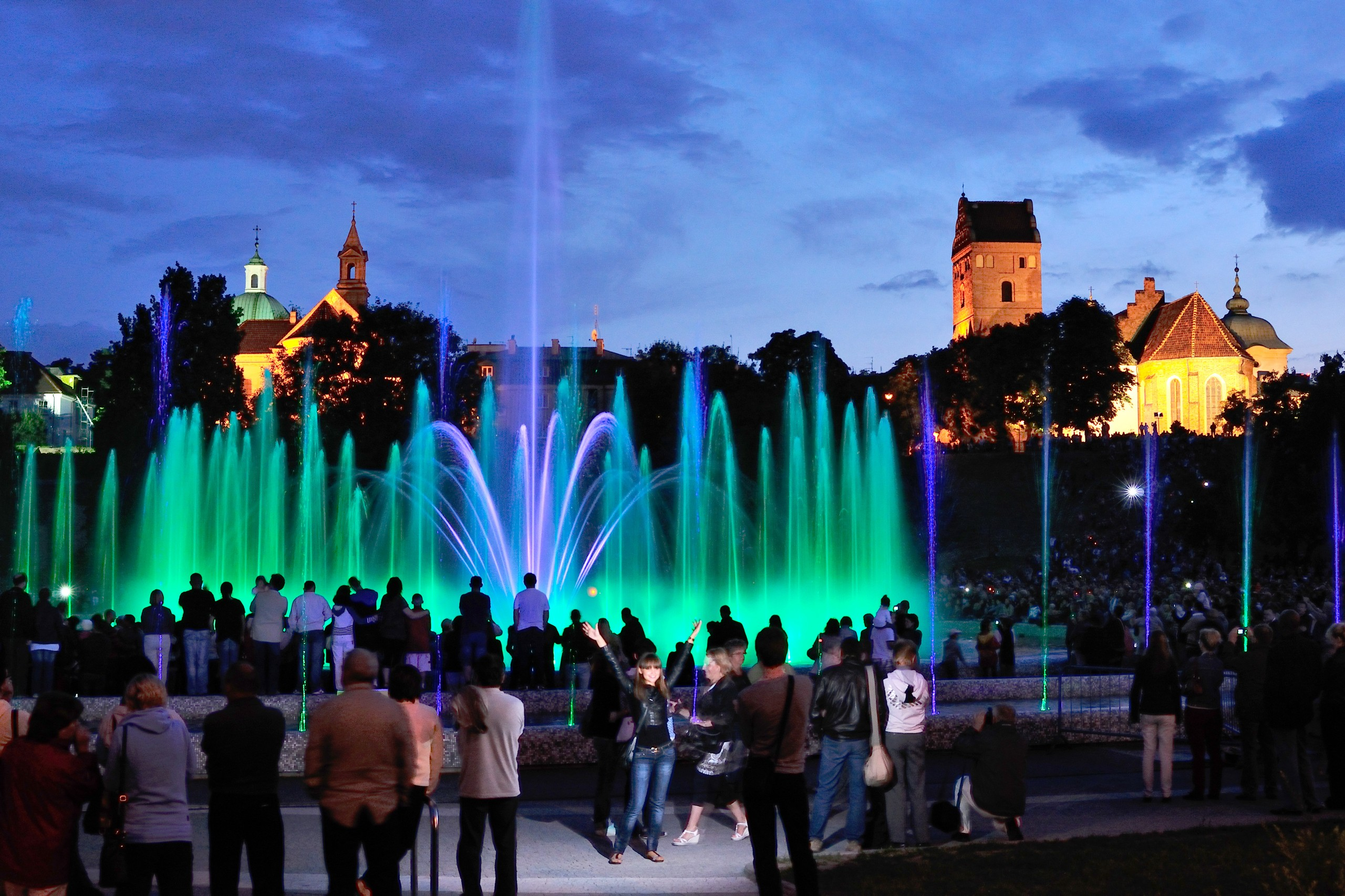 Photo of WARSAW : MULTIMEDIA FOUNTAIN PARK