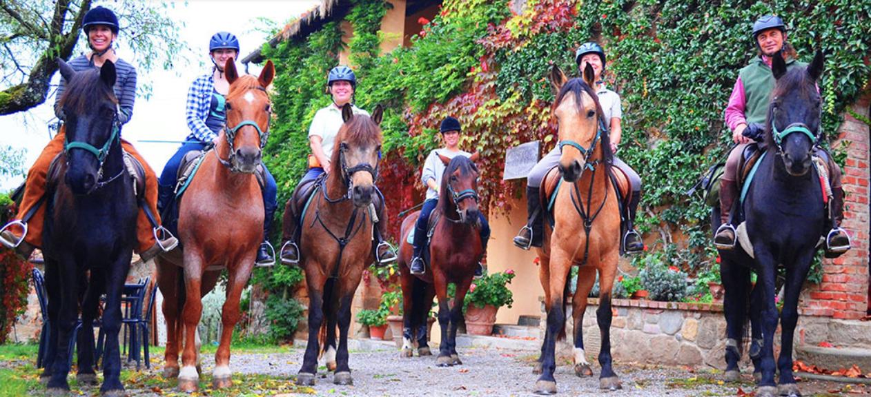 Photo of Agriturismo Rendola Riding (Tuscany, Italy)