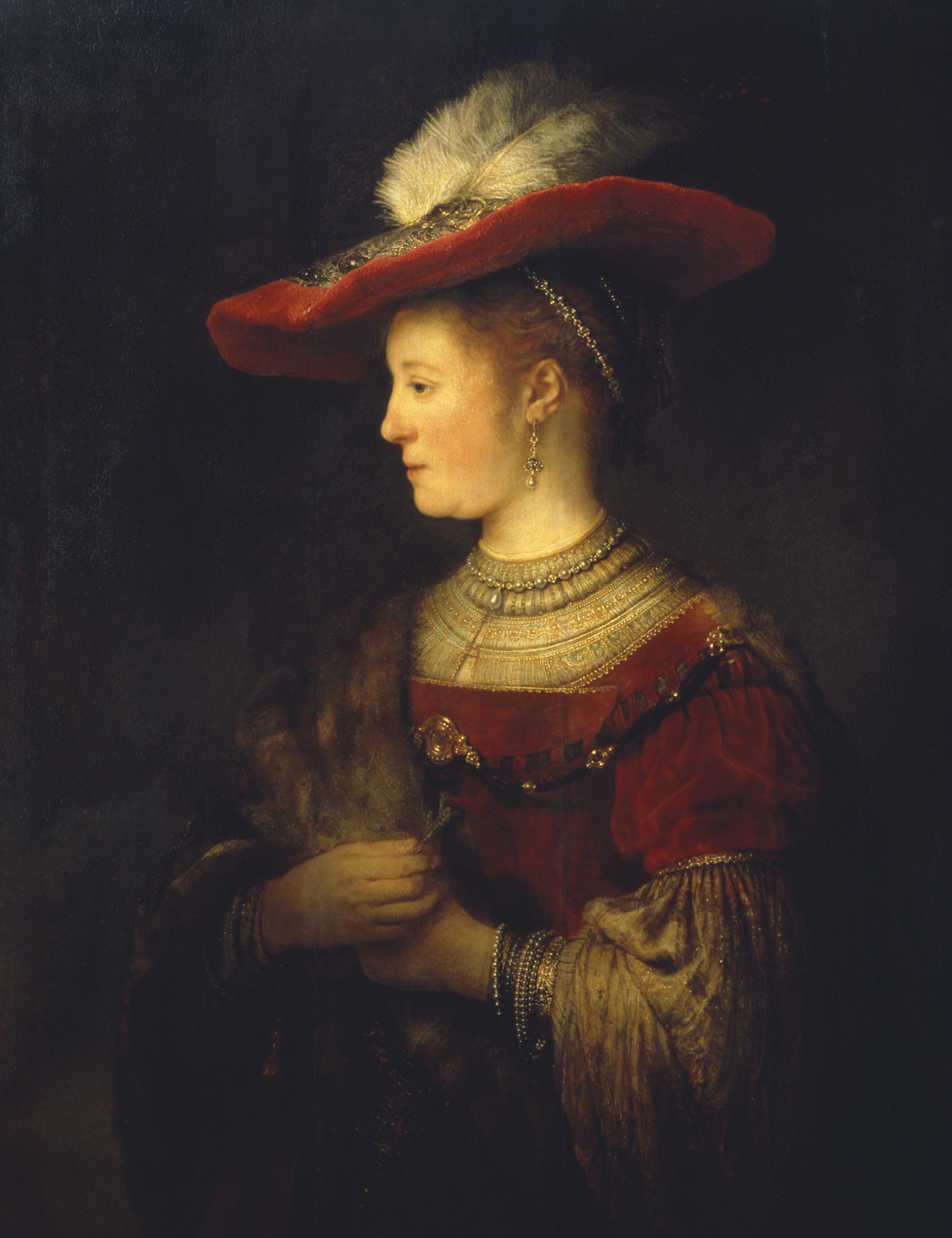 Photo of Rembrandt & Saskia in Fries Museum (Leeuwarden)