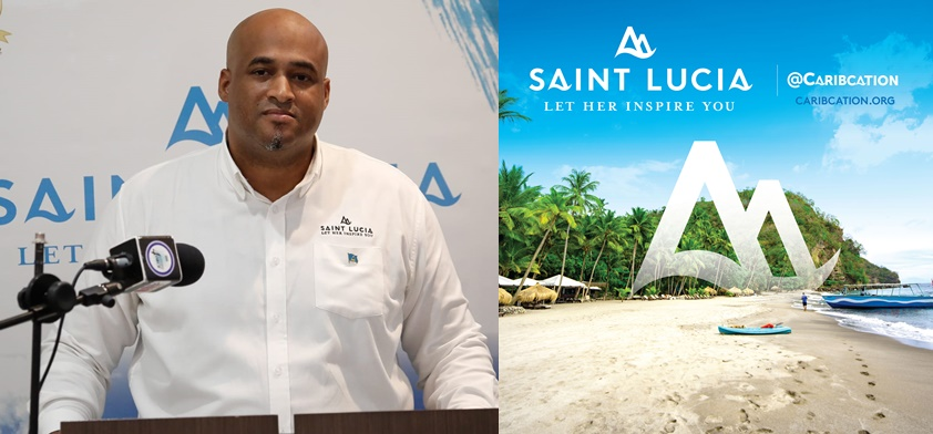 Photo of Saint Lucia Tourism Authority's new website designed specially for the Caribbean market