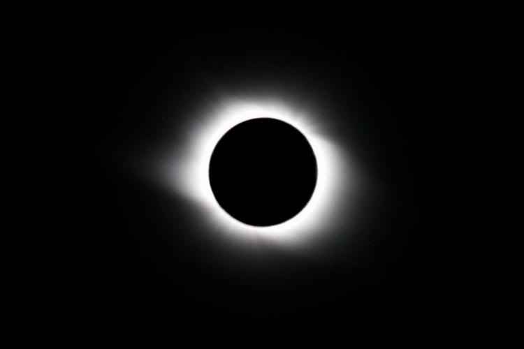 Photo of CRY IN ARGENTINA OBSERVING THE DECEMBER 2020 TOTAL SOLAR ECLIPSE